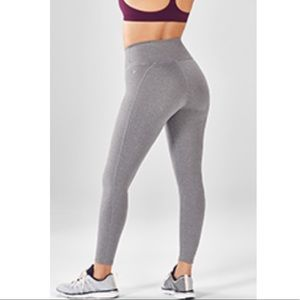 Fabletics high waisted powerhold 7/8 leggings